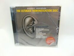 Various Artists - The Ultimate Demonstration Disc New BUT JEWEL CASE HAS CRACKS