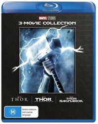 Thor Trilogy Box Set Collection ThorThe Dark WorldRagnarok Blu-ray