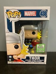 Funko Pop! Marvel Classic THOR 2019 ECCC Spring Convention Exc WProtector