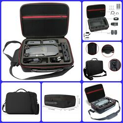 Drone Carrying Case Accessories Remote Batteries Storage Organizer Black New $35.20