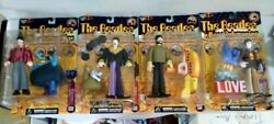 The Beatles Yellow Submarine McFarlane Toys Action Figure Set of (4) Paul Damage