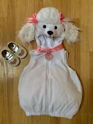 EUC toddler girls poodle costume. Worn once Heart shoes are 6 12 months $12.00