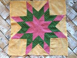 ~Back In Time Textiles~Antique 1860-80 pieced