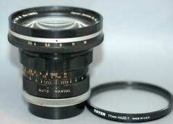 Canon FL 19mm f3.5 R manual focus ultra wide-angle lens FD - Nice Ex!