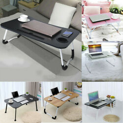 Portable Bed Desk Breakfast Tray For Bed Couch Multifunction Adjustable Serving
