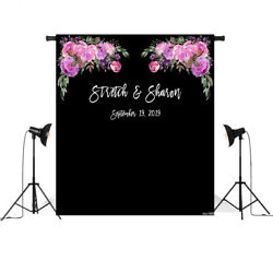 wedding banner backdrop photography flower decor signage backdground photophone $6.74
