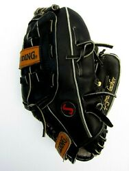 SPALDING GLOVE AEROBACK R HAND THROWER SC4 B COMPETITION DEEP POCKET $17.99