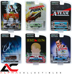 GREENLIGHT 44850-SET OF 6 1:64 HOLLYWOOD SERIES 25 VANISHING POINT A TEAM