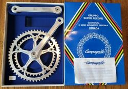 NOS Campagnolo super Record strada crank  old stock new 5342 tooth 180mm arms $595.00