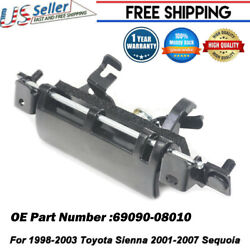 Metal Tailgate Back Door Handle For Toyota Sienna 1998-2003 For Sequoia 2001-07