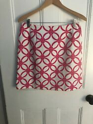 Pink and white skirt Talbots Size 12 $12.00