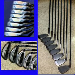 SPALDING PRO CALIBER PLUS Bi Metal Iron Set 3 PW Right Graphite Shaft $89.99