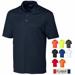 Men's Pique Polo Shirt S-5X by Clique  MQK00075 $14.00