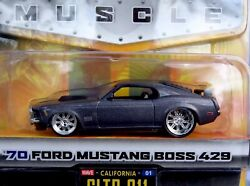 Jada Toys Dub City BIG TIME MUSCLE '70 FORD MUSTANG BOSS 429 2004 Wave 1