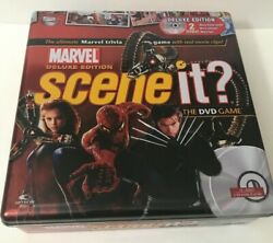 Marvel Deluxe Edition Scene It? The DVD Game - Collectors Tin - 2006 - Complete