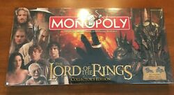 The Lord of the Rings Collector's Edition Monopoly 2005 NIB FACTORY SEALED