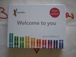New Unopened 23andMe DNA Test Health + Ancestry Personal Genetic Service Kit
