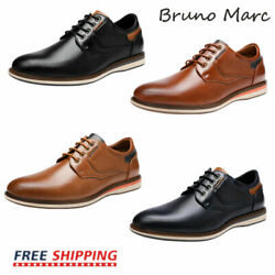 Bruno Marc Mens Casual Shoes Fashion Lace up Classic Oxford Shoes US Size 6.5 13 $27.89