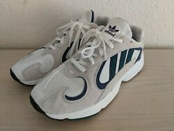adidas YUNG 1 cloud white green blue US10 New never worn $73.00