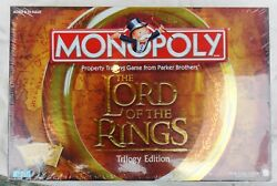 Vintage 2003 Parker Brothers Monopoly The Lord Of The Rings Trilogy Edition NEW