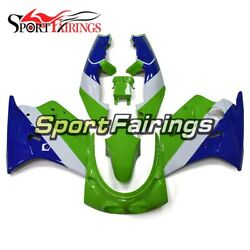 Full Fairings For Kawasaki ZXR250 1989 1990 ABS Injection Green Blue Lower Cover $492.47