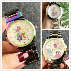 2019 New Bear Watch Stainless Steel Men and Women High Quality Color Watches