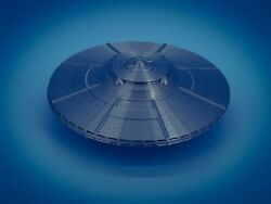 UFO Flying Saucer Alien Space Ship - HO Scale - 1:87 - Made in the USA! Area 51? $12.52