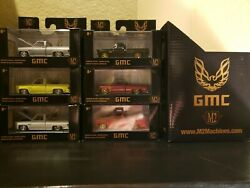M2 Machines Square Body Trans Am w CHASE - SET OF 6 - HOBBY EXCLUSIVE