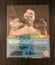 William Castle At Columbia Volume One (UK IMPORT) BLU-RAY NEW the ghost price