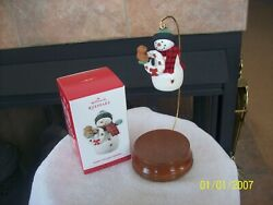 Hallmark Keepsake 2013 Happy Holiday Friends In Original Box Christmas Ornament