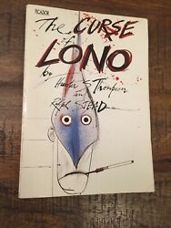 The Curse of Lono by Hunter S.Thompson (1983 Paperback 1st UK Edition!)