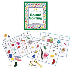 PRIMARY CONCEPTS INC SOUND SORTING WITH OBJECTS COMPLETE 1044