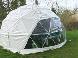 20' geodesic dome lightly used for a couple months less than a year old.
