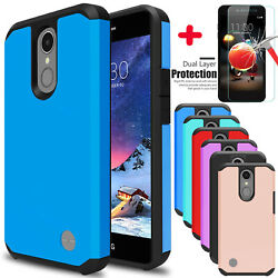 For LG Phoenix 4Rebel 4Fortune 2Zone 4 Case Shockproof With Screen Protector
