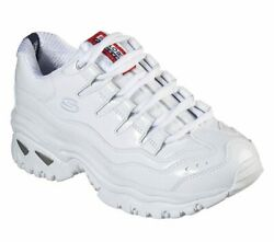 SKECHERS ENERGY THRILLER KNIGHT WHITE Women#x27;s Casual Athletic Sneakers 13405 $40.00