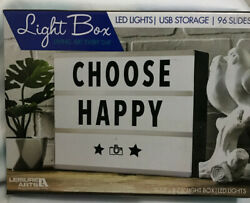 NEW - Cinema LED Light Up Box - 11x9 Message Board Desk Home Room Store Sign