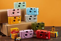 NEW Kodak Vintage retro M35 35mm Reusable Film Camera Pink Purple YE Green US $38.80