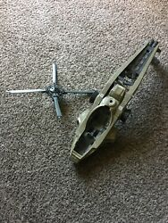 Vintage Gi Joe 1990 helicopter FOR PARTS ONLY $9.99