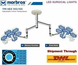 LED SURGICAL LIGHT (HEX SERIES)  Model : TMI HEX 105 + 105  Ceiling Light