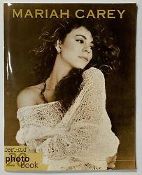 VTG Collectible 1990s Mariah Carey 20 Photo Tear-Out Book Oliver Books 1996 VG