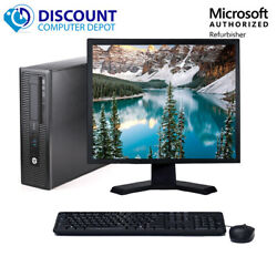 HP Desktop Computer PC🚩Core i5 16GB 2TB 256GB SSD🚩22