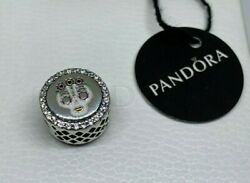 NWT AUTHENTIC Pandora LTD EDT SILVER Frida Kahlo & Diego skull