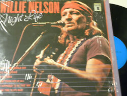LpWillie NelsonNight LifeNear Mint with Shrink WrapImport
