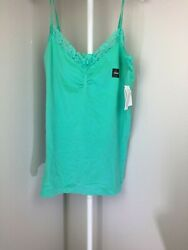 Attention Seamless Womens Tank Top Pull Over V Neck $7.50