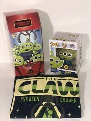Funko Pop! Toy Story Alien 525 fye Exclusive funko OR the Claw alien Tee choices