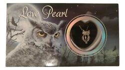 Love Pearl OWL Necklace Kit Simulated Pearl in an Oyster