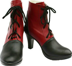 Cosplay Boots Shoes for Black Butler Grell Sutcliff 1