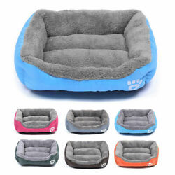 Pet Dog Cat Bed Puppy Cushion House Warm Kennel Sofa Mat Pad Blanket Washable $18.48