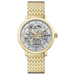 Ingersoll Crown Automatic Skeleton Watch I06103 NEW $183.00