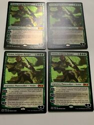 4x NM  Unplayed 1 Foil Vivien Arkbow Ranger From M20